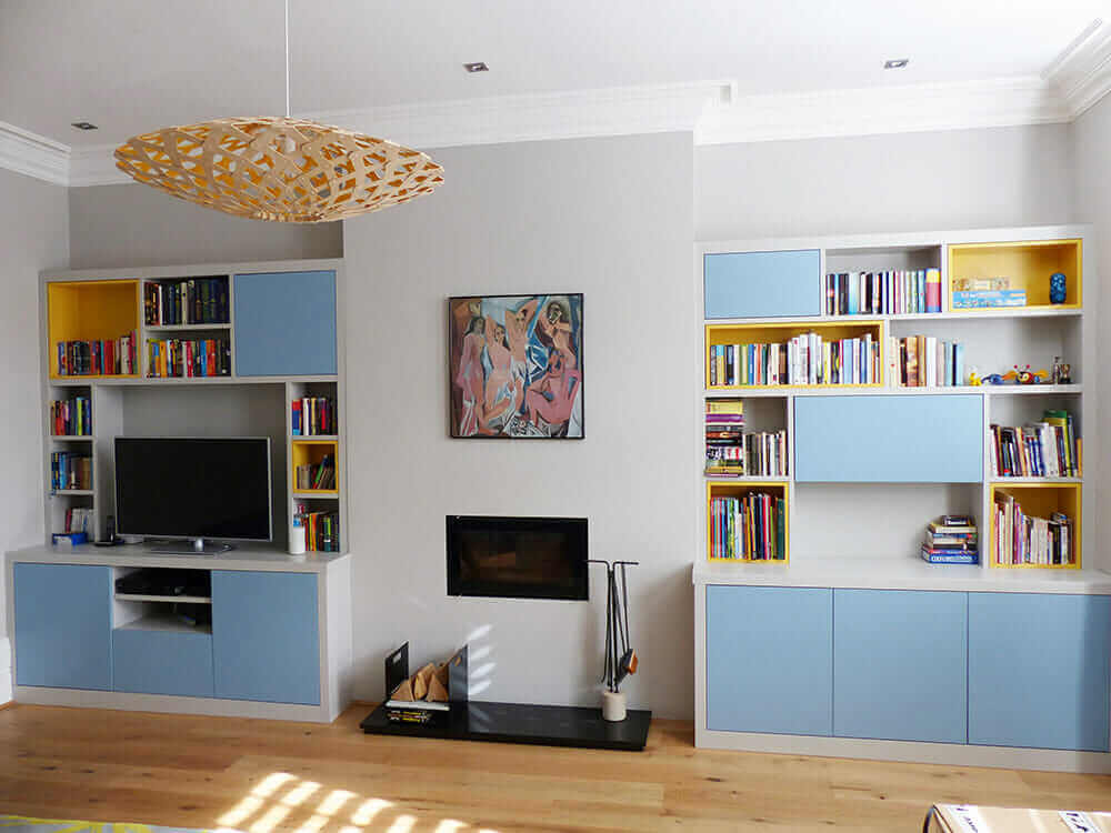 Contemporary fitted alcove furniture